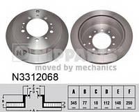 Тормозной диск NIPPARTS N3312068 на LEXUS LX (URJ201)