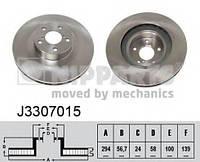 Тормозной диск NIPPARTS J3307015 на SUBARU IMPREZA седан (GC)