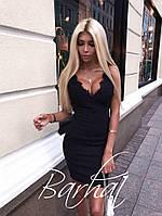 Платье с кружевным декольте , фото 1