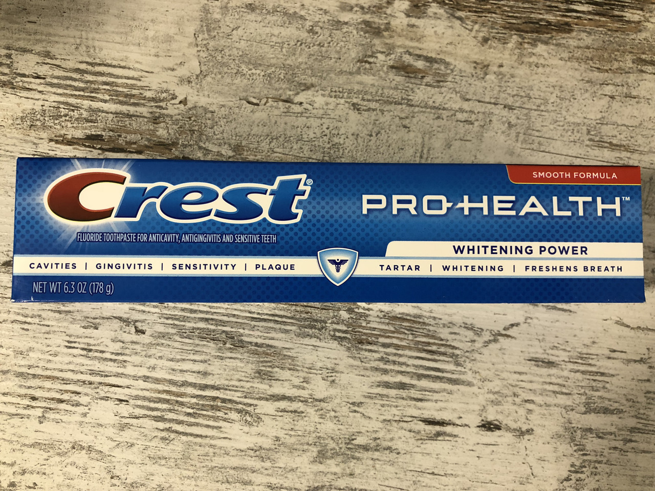 Отбеливающая зубная паста Crest Pro-Health Whitening Power, 178грамм