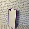 Чехол для 2D сублимации пластиковый Iphone 5/5S фиолетовый