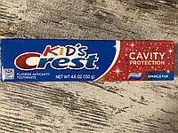 Антикариесная зубная паста для детей Crest Kids Cavity Protection, 130грамм