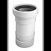 Гофра для унитаза со съемным манжетом  McAlpine WC-F23R-EU