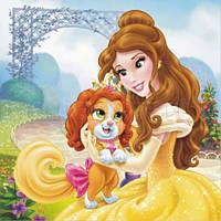 Картина на холсте disney принцесса белла (30 x 30)