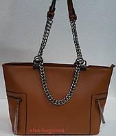 Женская сумка с металлическими цепями Silvia Rosa
