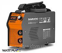 Сварочный (230 А) DAEWOO DW 230 аппарат инвертор (190-260 В, электрод 1,6-5 мм, Hot Start, Arc-Force)