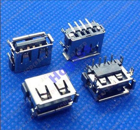 USB Разъем гнездо Asus X8A K50ID K501 K50 K50AB - разем, фото 2