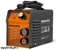 Сварочный (170 А) DAEWOO DW 170 апарат инвертор (190-260 В, электрод 1,6-4 мм, Hot Start,  Arc-Force)
