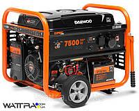 Бензиновый генератор (7,5 кВт) Daewoo GDA 8500E (220 В, 18 л. с., 445 куб. см, розетки 1×16 А/1×32 А)