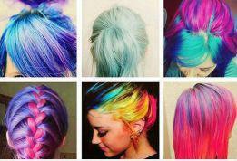 Мгновенная временная краска цветная пудра (мелки) для волос Hot Huez (Хот Хуез) - фото 5
