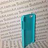 Чехол для 2D сублимации пластиковый Iphone 5/5S голубой