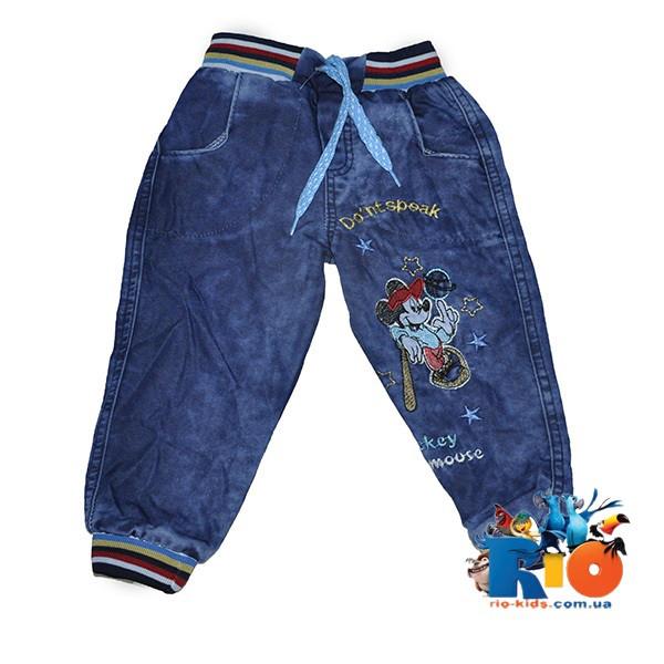 """Детские джинсы """"Nikido"""" с вышивкой, для детей 3-7 лет, 5 ед в пачке"""