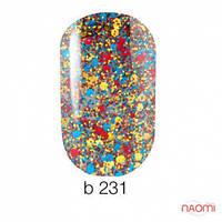 Гель-лак Naomi Brilliant Collection 231, 6 мл