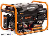 Бензиновый генератор (3,2 кВт) Daewoo GDA 3800E (220 В, 7,5 л. с., 208 куб. см, розетки 2×16 А)