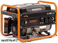 Бензиновый генератор (3,3 кВт) Daewoo GDA 3800 (220 В, 7,5 л. с., 208 куб. см, розетки 2×16 А)