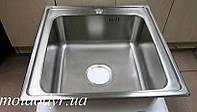Мойка кухонная врезная из нержавеющей стали Kuchinox 500мм х 500мм х 170мм, фото 1