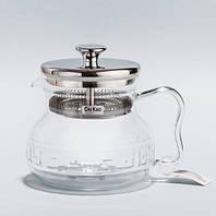 Стеклянный Чайник -  Домашний водопой (600 ml.)