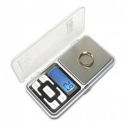 Карманные ювелирные электронные весы 0,1-500 гр Pocket Scale MH-500