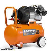 Компрессор 60 л DAEWOO DAC 60VD с прямым приводом (3,3 л. с./2,4 кВт, 410 л/мин, 8 бар, 220 В, 2850 об/мин