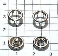 Кнопки Baby рубашечные 9.5мм