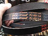 Приводной ремень для электроинструмента 6PJ-451 Pix, фото 6