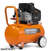 Компрессор 50 л DAEWOO DAC 50D с прямым приводом (2,8 л. с./2,1 кВт, 290 л/мин, 8 бар, 220 В, 2850 об/мин)