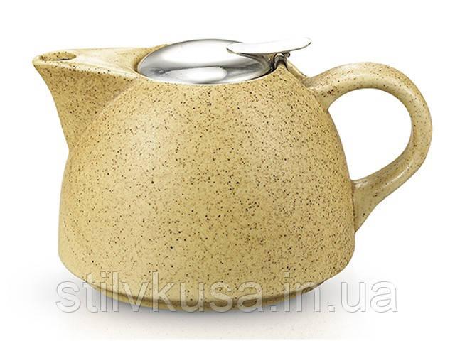 Заварочный чайник с ситечком FISSMAN