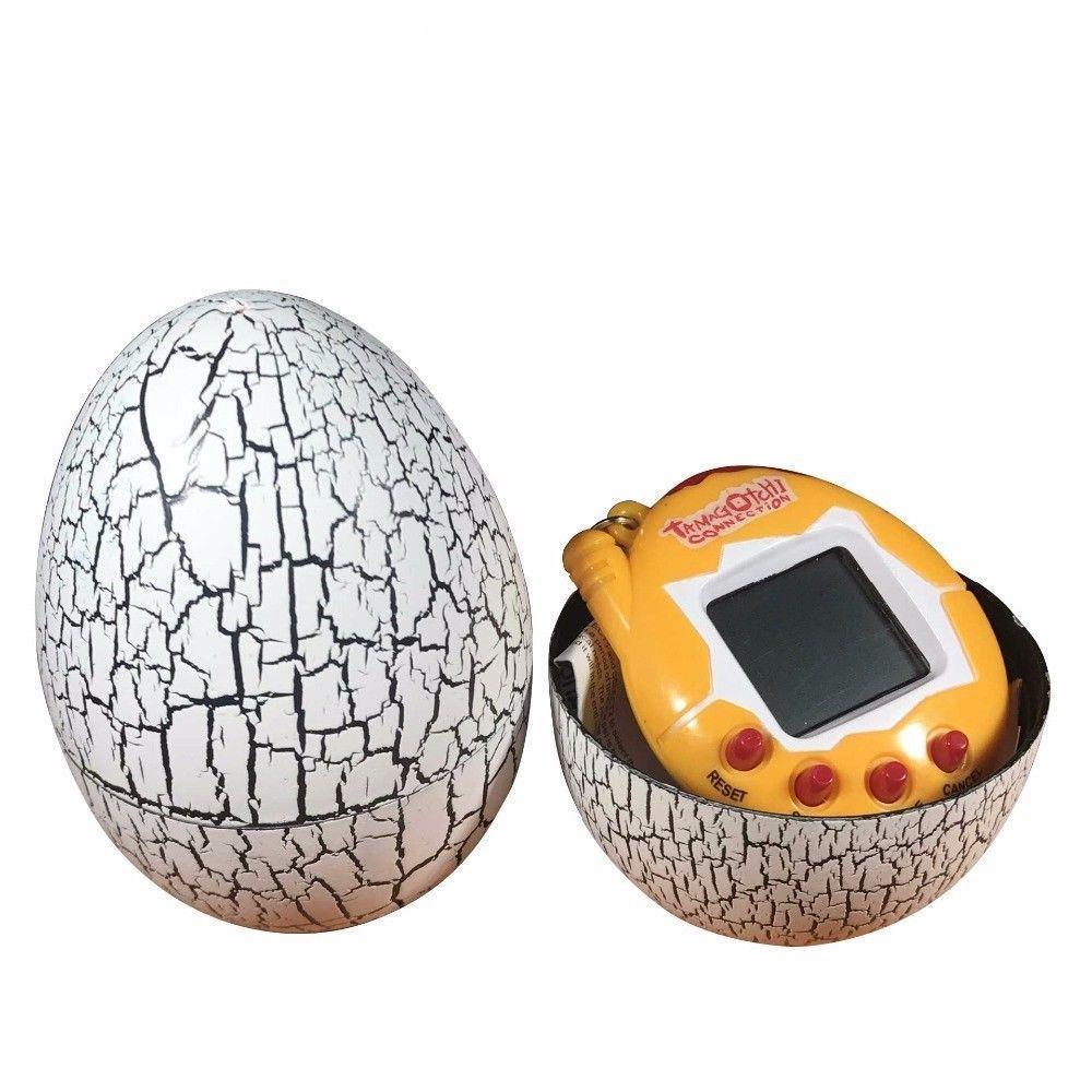 Электронная игра Tamagotchi Тамагочи Виртуальный питомец в яйце Желтый (SUN0118)