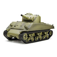 Радиоуправляемая модель танка Шерман M4A3 в соотношении 1/16 - Heng Long 3898-1/US Sherman M4A3 2.4G 1TopShop