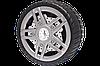 Автомобильный компрессор AUTO WELLE AW02-17 с фонарем пластиковый 12V 9A 20 l/min 100PSI