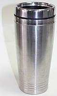 Термо-кружка металлическая