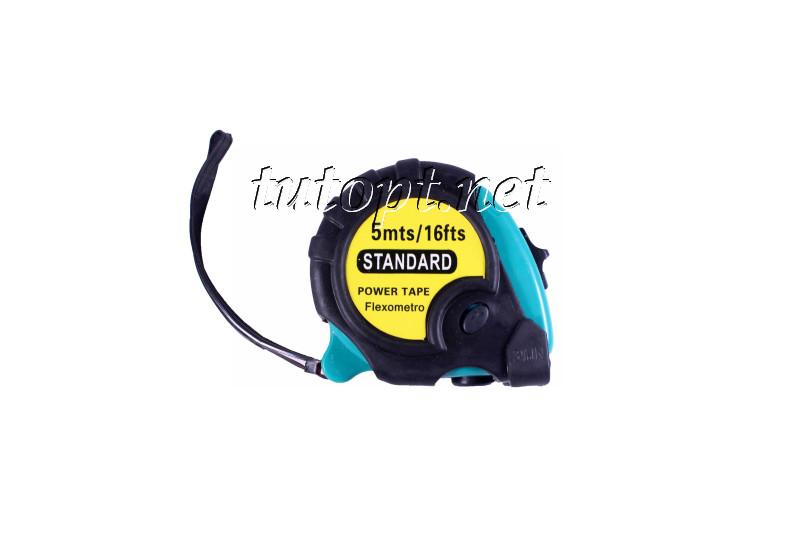 """Рулетка измерительная """"Standart"""" с трех режимной фиксацией, длина: 5 метра"""