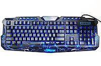 Клавиатура игровая с подсветкой USB M200-2 Молния Gamer