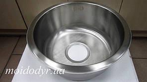 Мойка кухонная Intra 350 врезная из нержавеющей стали