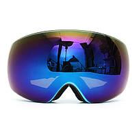 Зимний унисекс Анти Fog Blue Dual Len Мотор Велосипедные гонки Outdooors Snowboard Ski Goggles
