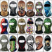 3-я шея вязаного шлема мотоцикла катается на лыжах животное круглой шапочки кепки шляпы покрытия полнолицевой маски