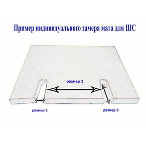 Спортивный мат для шведской стенки 120х100х5 см, фото 2