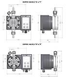 Дозирующий насос Emec Cl 15 л/ч c авто–регулировкой (TMSRH 0515), фото 4