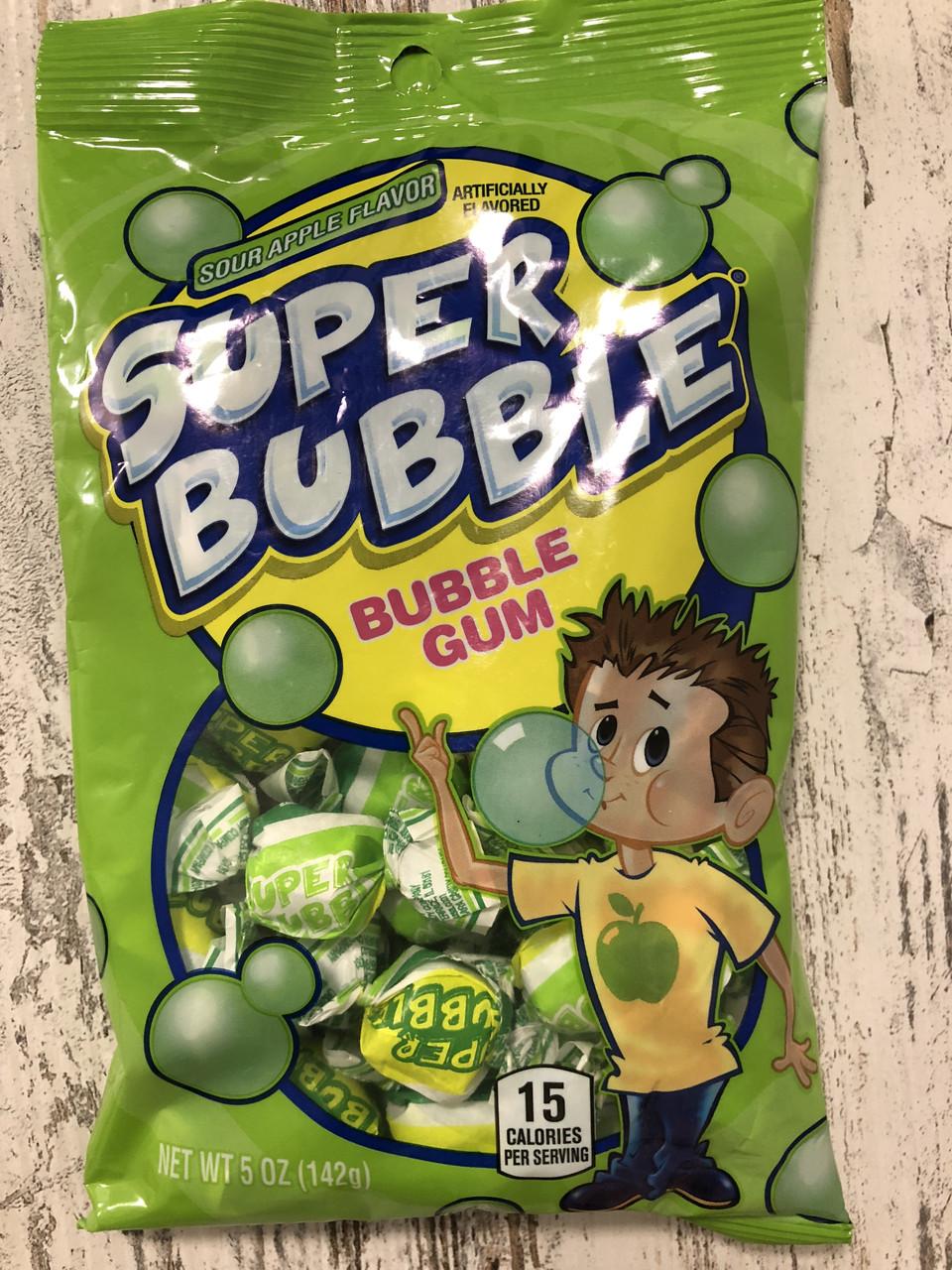 Жвачка Dubble Bubble Кислое яблоко