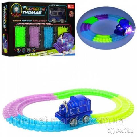 Детская железная дорога трек- паровозик Томас Fluorescent Thomas