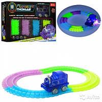 Детская железная дорога трек- паровозик Томас Fluorescent Thomas, фото 1