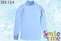 Водолазка детская турецкая ткань р.110 SmileTime,светло голубая