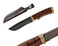Нож из дамасской стали ОХОТНИК MHR /45-58