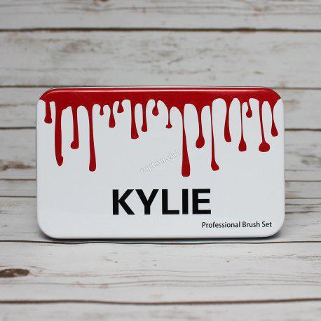 Профессиональный набор кистей для макияжа 12шт Kylie professional brush set