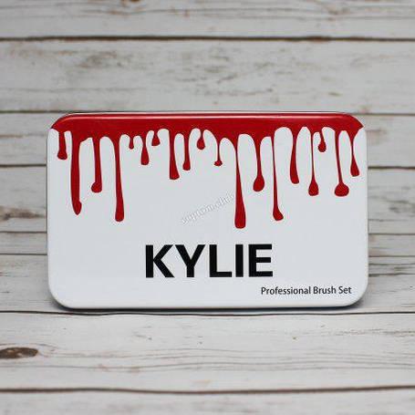 Профессиональный набор кистей для макияжа 12шт Kylie professional brush set, фото 2
