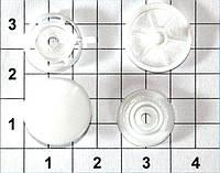 Кнопки пластиковые Т5 для папок 13 мм упаковка 1000штук
