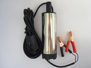 Насос топливоперекачивающий погружной электрический с фильтром 12В/24В 5А40