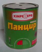 Эмаль-грунт для крыш Панцирь (3кг) СЕРЫЙ МЕТАЛИК, фото 1