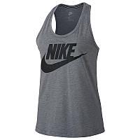 Женская майка серая Nike Sportswear Essential Tank 831731-091, размер М