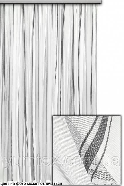 Тюль полоска Бруно, цвет № 10